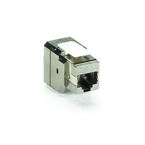 FMT700, CAT6a Shielded Jack, T568B Wiring 4-Pair - Black Box