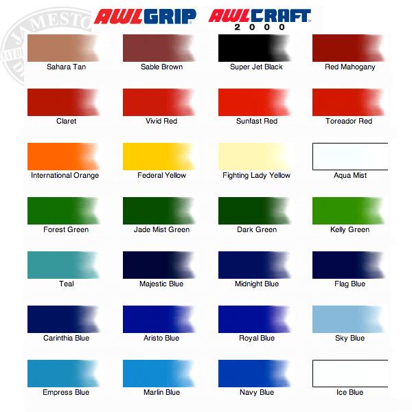 Awlgrip se color chart