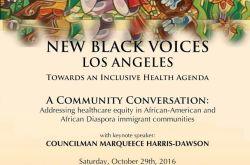 New Black Voices LA- Health Equity & Health Justice Convening