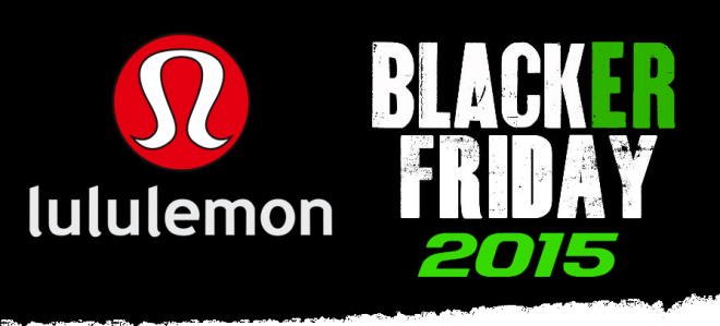 Lululemon Black friday 2015 Ad Scan