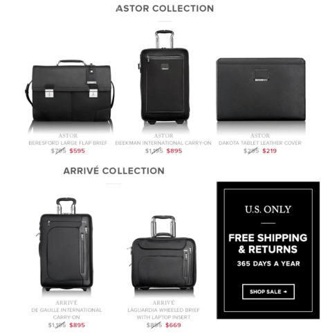 Tumi black friday ad scan - page 2