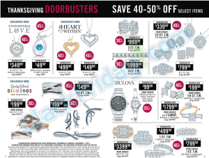 Zales black friday ad scan - page 2