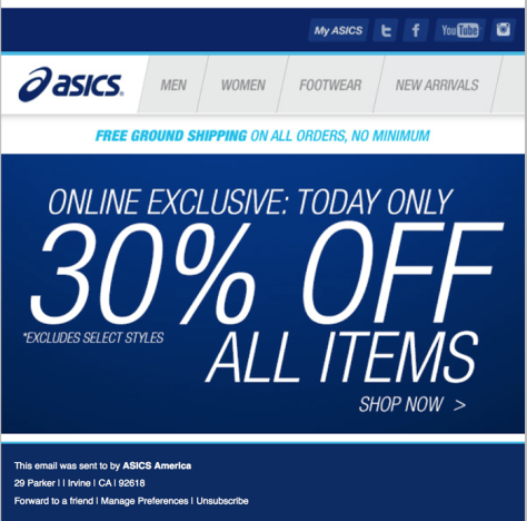 asics black friday ad scan - page 2