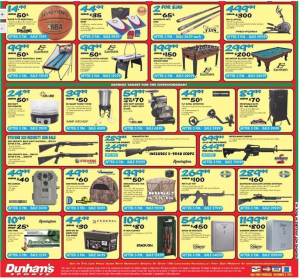 dunhams sports black friday ad scan - page 2