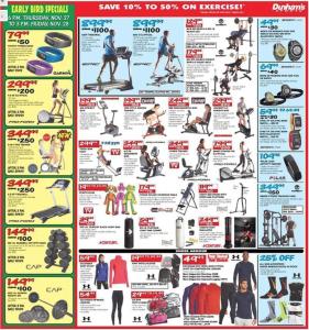 dunhams sports black friday ad scan - page 7