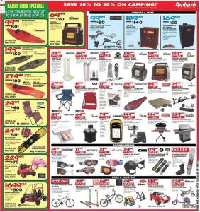 dunhams sports black friday ad scan - page 9
