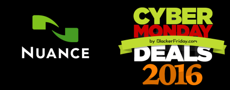 Nuance Cyber Monday 2016