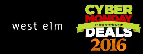 West Elm Cyber Monday 2016