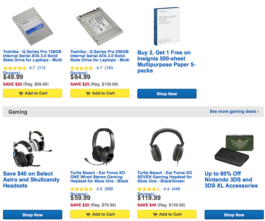 Find hot deals and exclusive offers to save money on your favorite products. The cheapest deals on laptops, cameras, computers and more.