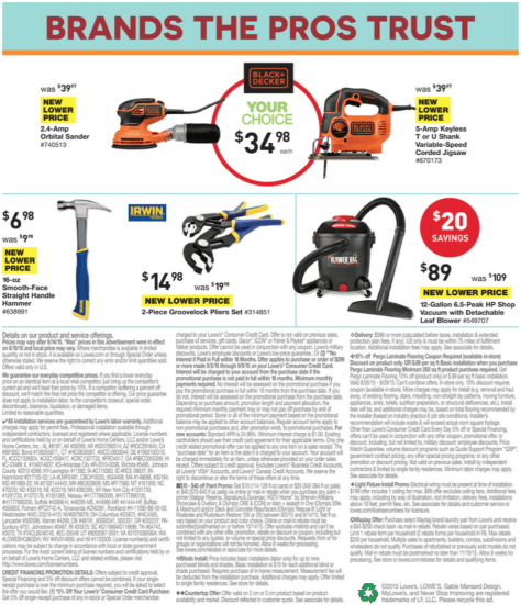 Lowes Labor Day Sale 2015 - Page 14