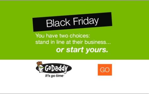 GoDaddy Black Friday Ad - Page 1