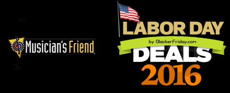 Musicians Friend Labor Day Sale 2016