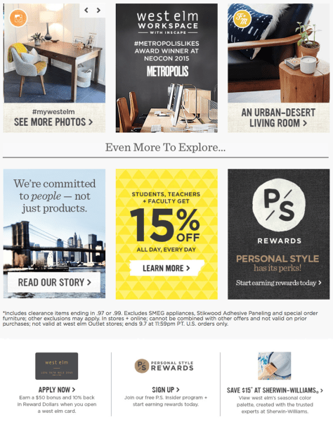 West Elm Labor Day Sale 2015 - Page 2