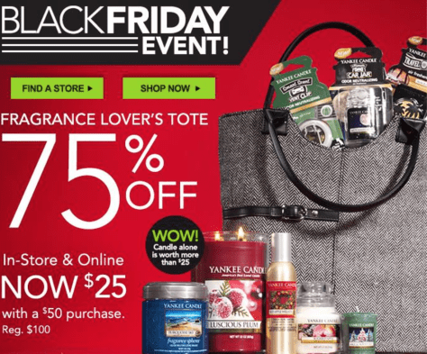 Yankee Candle Black Friday Ad - Page 1
