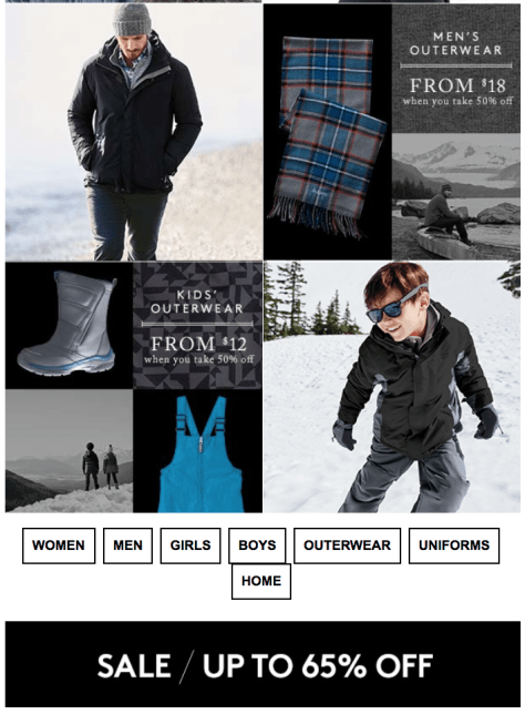 Lands End Black Friday 2015 Ad - Page 2