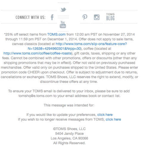 Toms Cyber Monday Ad - Page 2