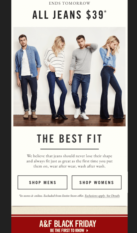 Abercrombie and Fitch Black Friday 2015 Ad - Page 2
