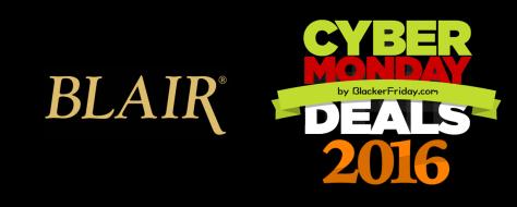 Blair Cyber Monday 2016