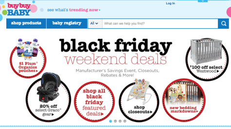Buy Buy Baby Black Friday 2015 Flyer - Page 1