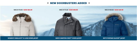 Columbia Cyber Monday 2015 Ad - Page 2