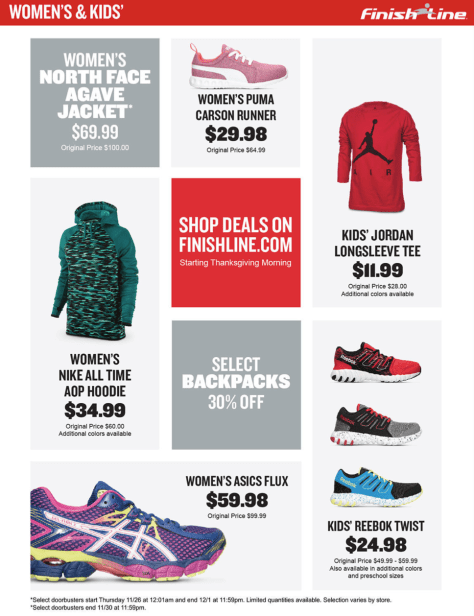 Finish Line Black Friday 2015 Ad - Page 3