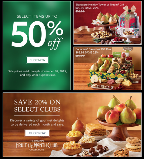 Harry and David Cyber Monday 2015 Ad - Page 2