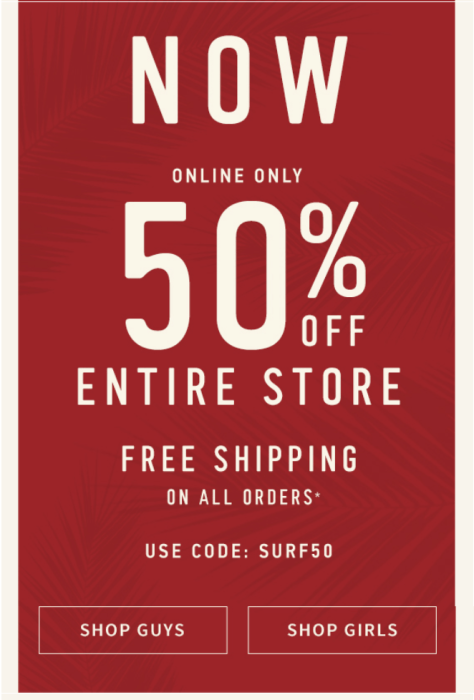 Hollister Cyber Monday 2015 Ad - Page 2