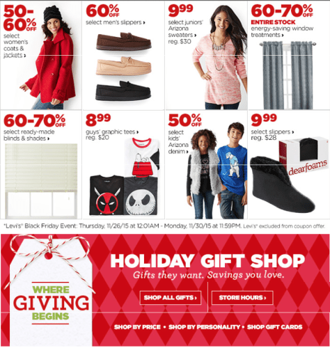 JC Penny Cyber Monday 2015 Ad - Page 3