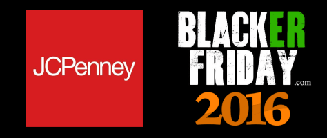 JCPenny Black Friday 2016