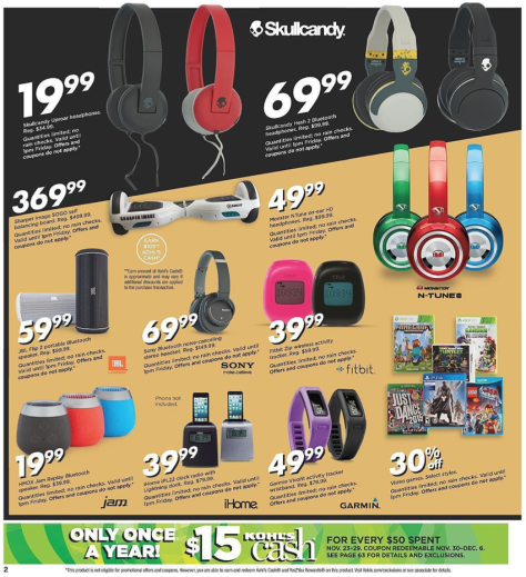 Kohls Black Friday 2015 Ad - Page 2