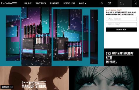 Mac Cosmetics Cyber Monday 2015 Ad - Page 1