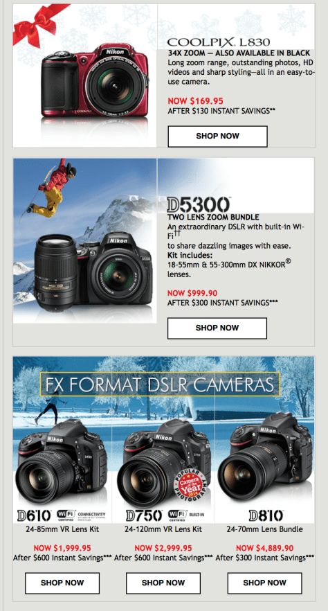 Nikon Black Friday Ad - Page 2