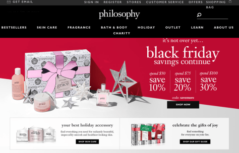 Philosophy Black Friday 2015 Ad - Page 1