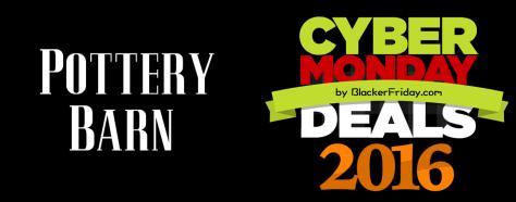 Pottery Barn Cyber Monday 2016