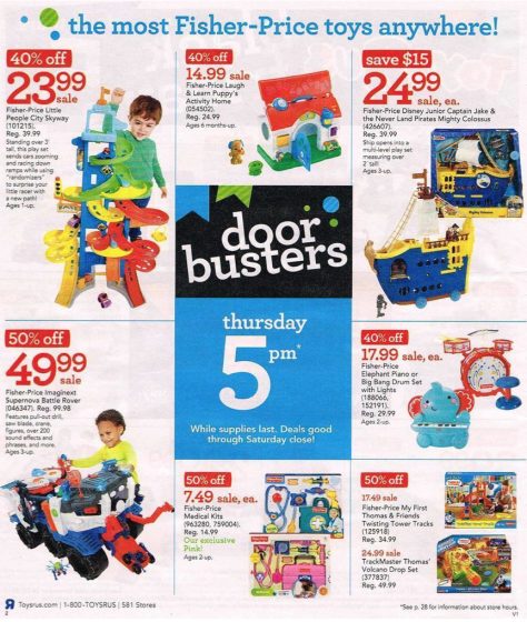 Toys R Us Black Friday 2015 Ad - Page 2