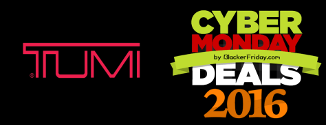 Tumi Cyber Monday 2016
