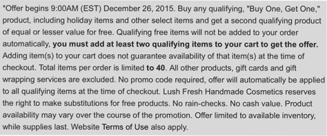 Lush After Christmas Sale 2015 - Page 3