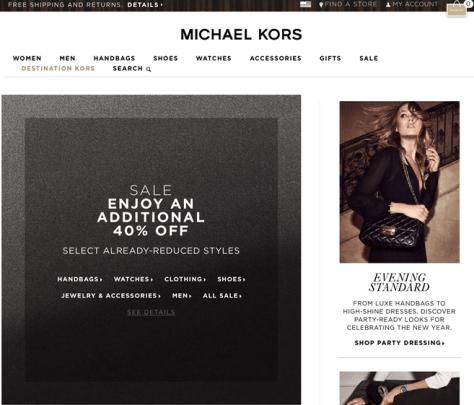 Michael Kors After Christmas Sale 2015 - Page 1