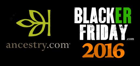 Ancestry Black Friday 2016