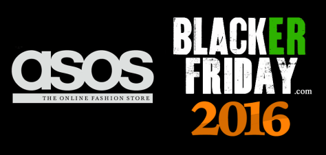 Asos Black Friday 2016
