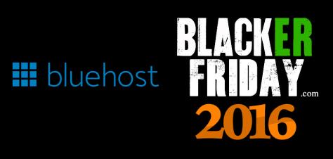 BlueHost Black Friday 2016