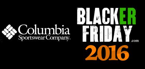 Columbia Black Friday 2016