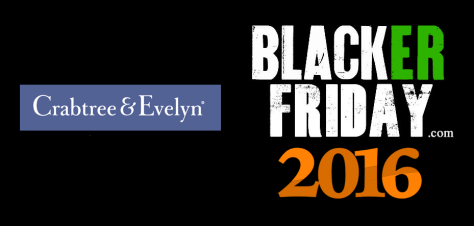 Crabtree and Evelyn Black Friday 2016