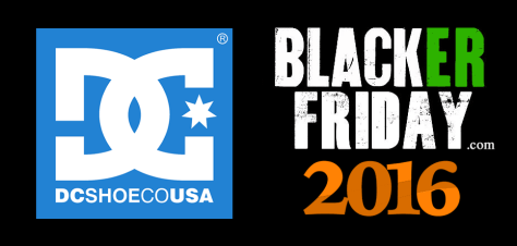DC Shoes Black Friday 2016