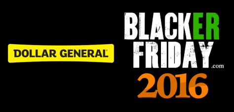 Dollar General Black Friday 2016