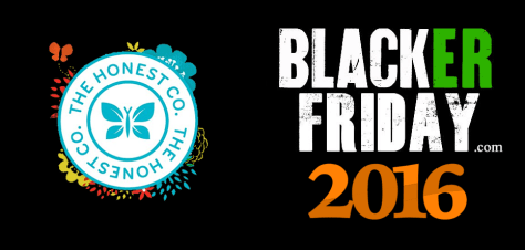 Honest Company Black Friday 2016