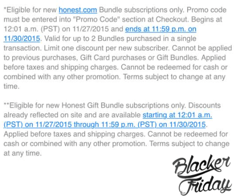 The Honest Company Black Friday Sale - Page 2