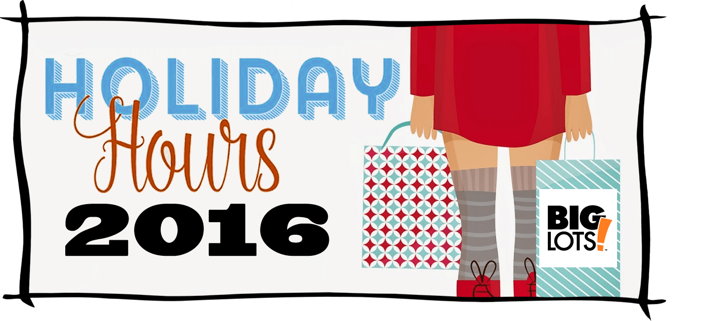 Big Lots Black Friday Store Hours 2016