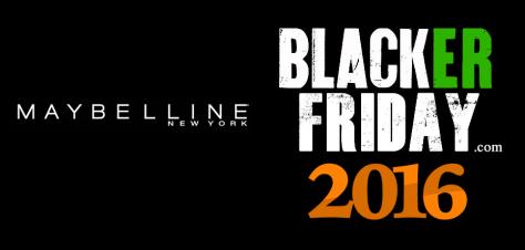 Maybelline Black Friday 2016