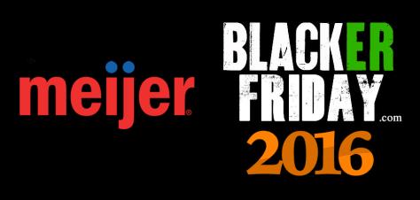 Meijer Black Friday 2016